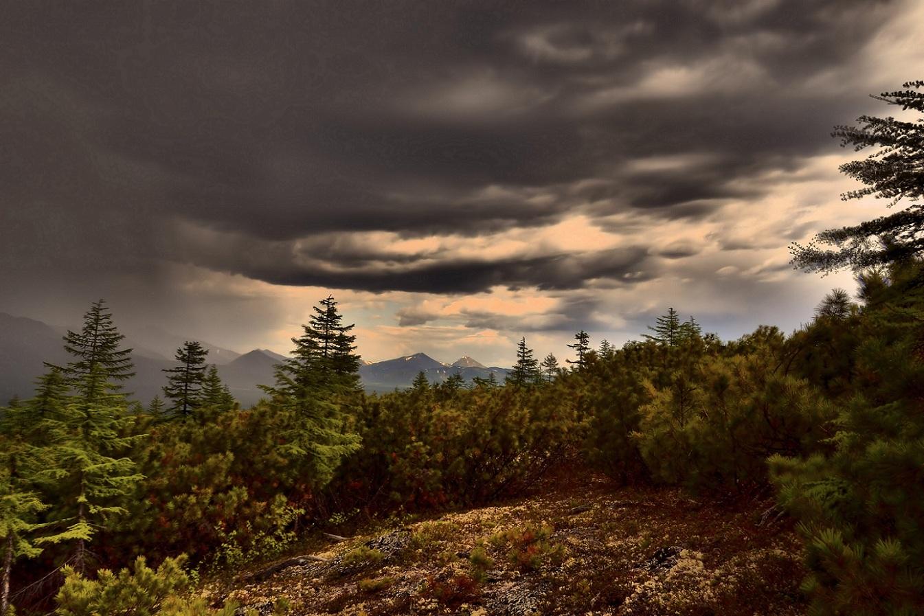 """фото """"За минуту до грозы"""" метки: пейзаж, облака"""