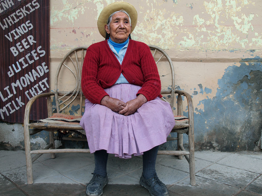 "photo ""***"" tags: portrait, travel, South America, woman"