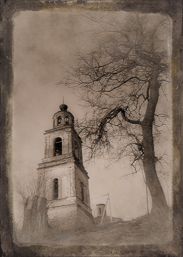"""фото """"Старая церковь"""" метки: архитектура, пейзаж,"""
