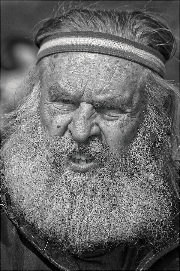 """фото """"Злыдень Ч\Б"""" метки: портрет, мужчина"""