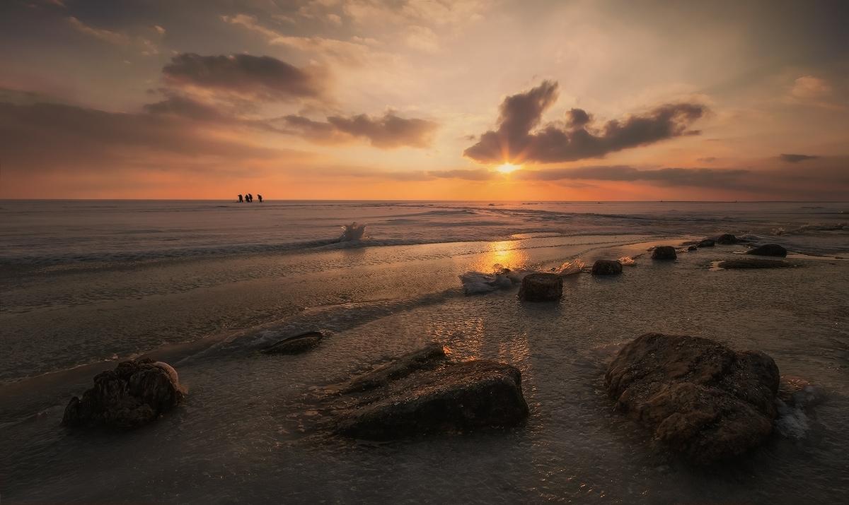 "фото ""В лучах золотого заката"" метки: пейзаж, закат"