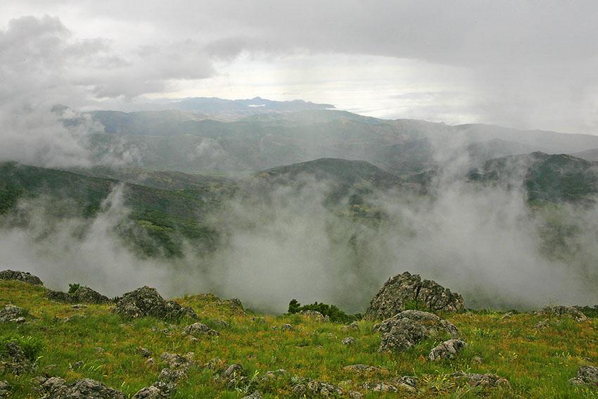 "фото ""Туман..."" метки: пейзаж, горы"