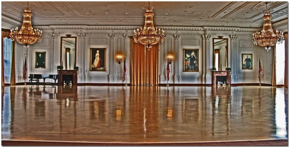 """photo """"Ballroom"""" tags: interior, panoramic,"""