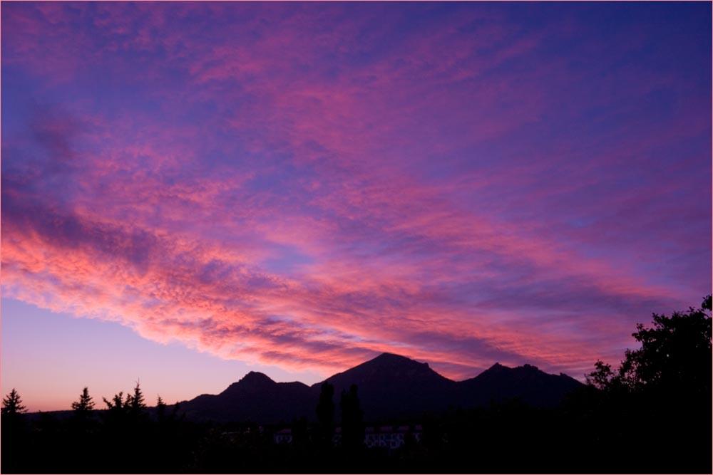 "фото ""Летний закат"" метки: пейзаж, закат"