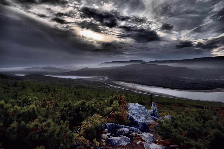 "фото ""Далекие туманы"" метки: пейзаж,"