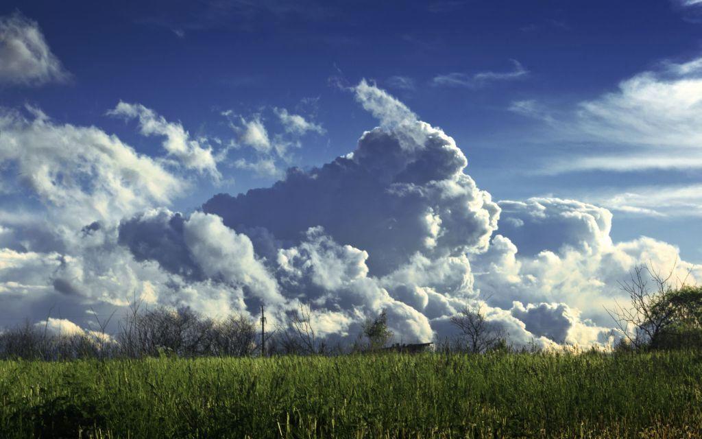 "фото ""Облака атакуют"" метки: пейзаж, облака"