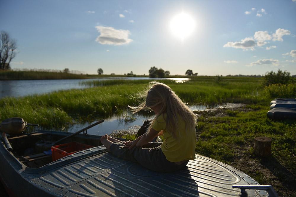 """фото """"На реке"""" метки: пейзаж, портрет, вода, дети"""