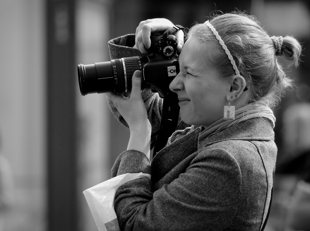 """фото """"Начинающий репортёр"""" метки: черно-белые, жанр,"""