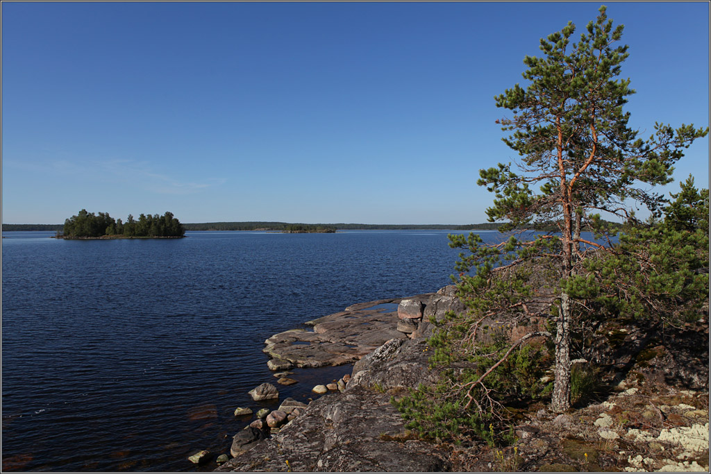 "photo ""Warm and affectionate ... Ladoga"" tags: travel, landscape, Europe, summer"