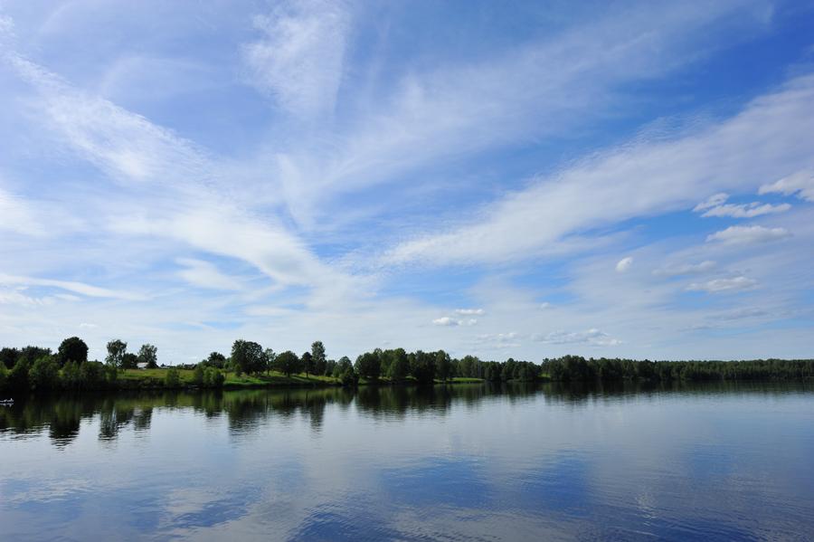 """фото """"Вода и небо"""" метки: пейзаж, вода, лето"""