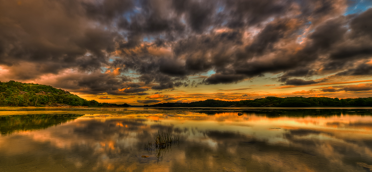 "photo ""Summernight....."" tags: landscape, summer, sunset"