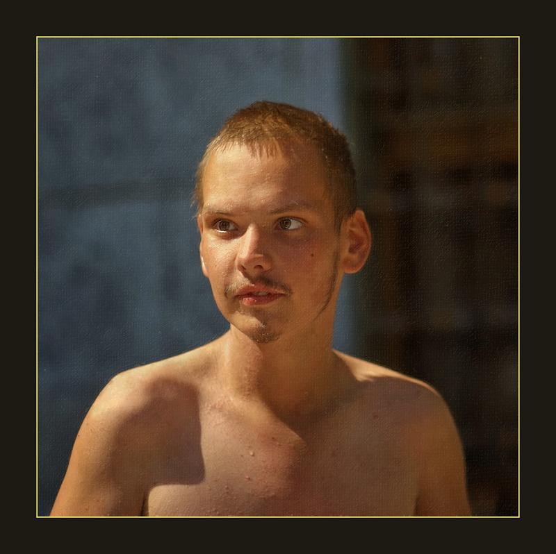 """фото """"Блаженный."""" метки: портрет, мужчина"""