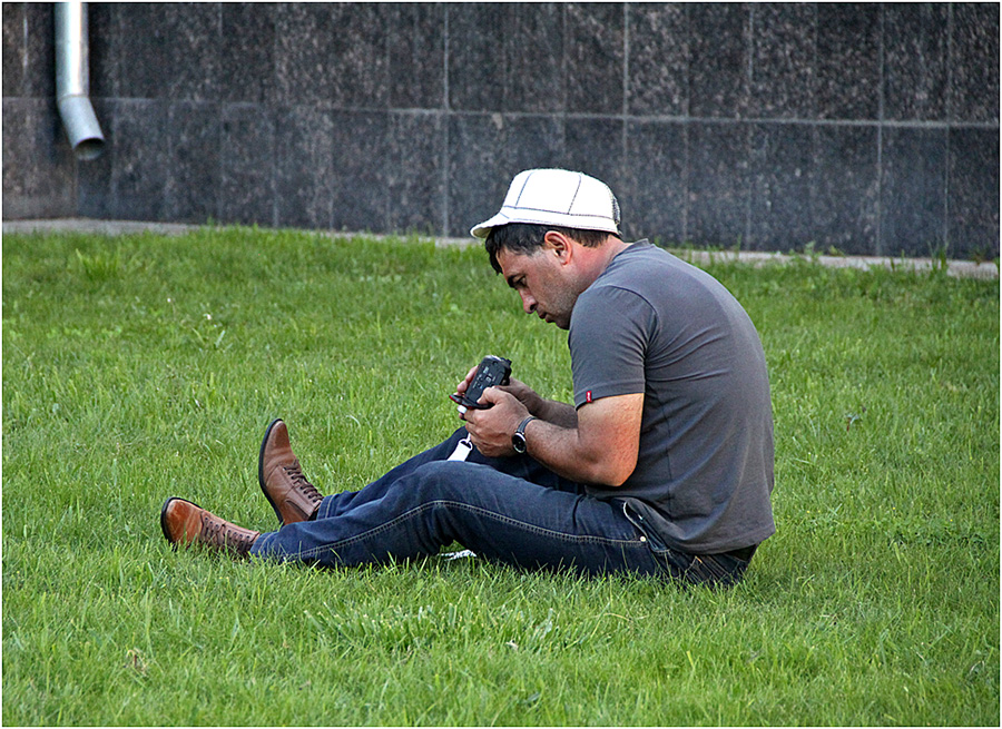"""фото """"Человек с...  камерой."""" метки: жанр,"""