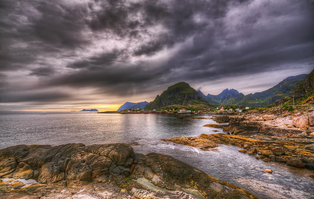 """photo """"Ut mot havet....."""" tags: landscape, autumn, water"""