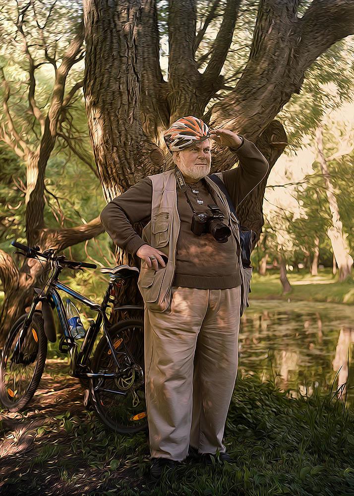 """photo """"***"""" tags: portrait, landscape, man, summer"""