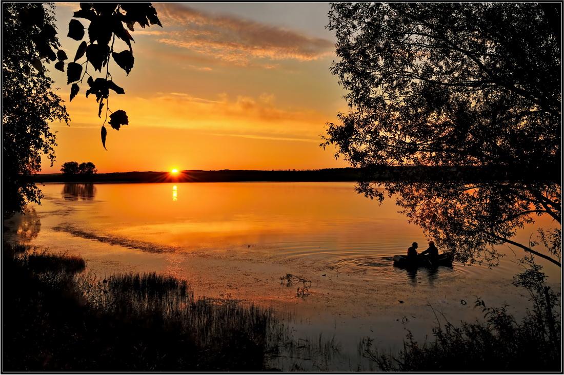 """фото """"на восходе"""" метки: пейзаж, закат"""