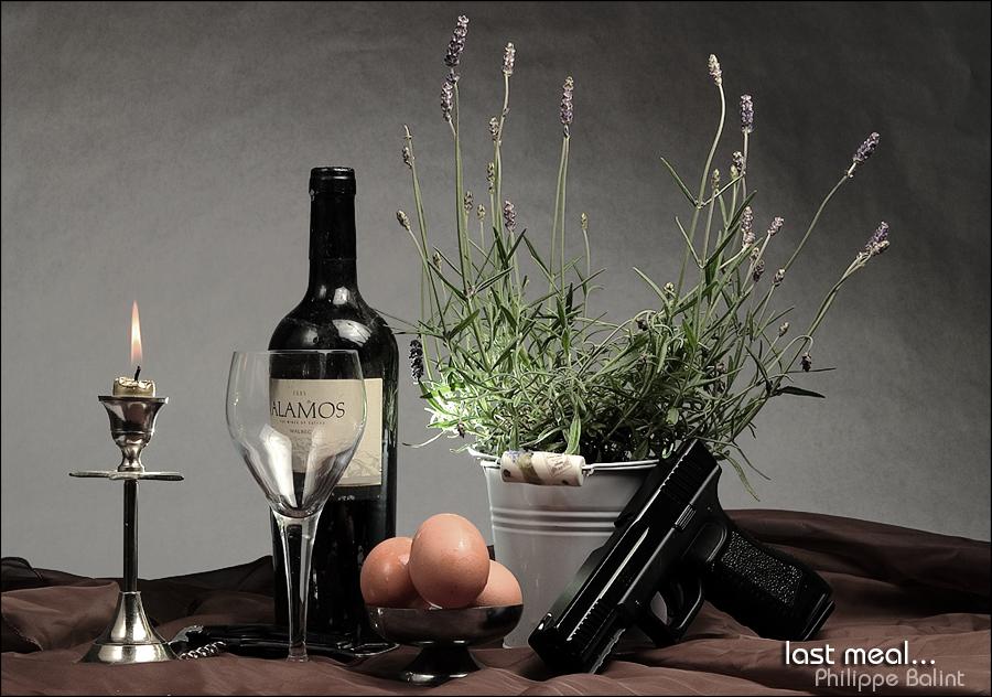 """photo """"dernier repas..."""" tags: still life,"""