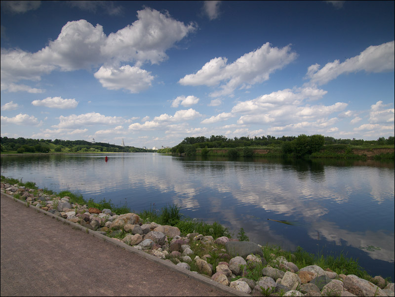 "photo ""Moscow-river at Kolomenskoye"" tags: landscape,"