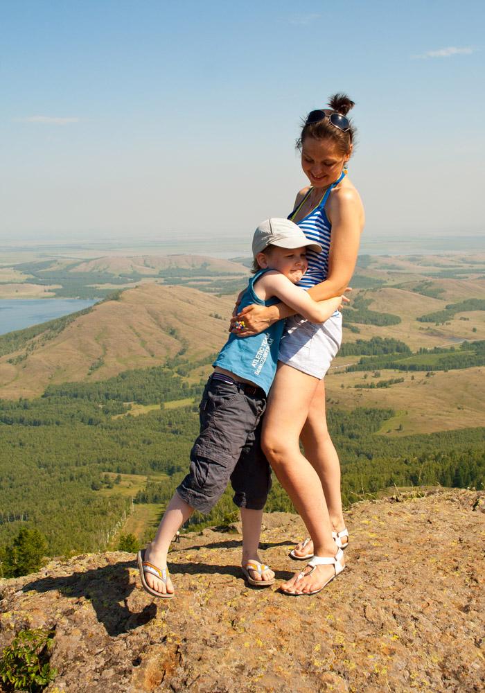 """фото """"Не страшна любая высота, когда мама рядом!"""" метки: жанр,"""