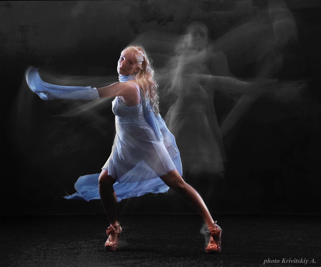 """фото """"Танец. Ксения Кучинская. Из фотофильма."""" метки: портрет, женщина"""