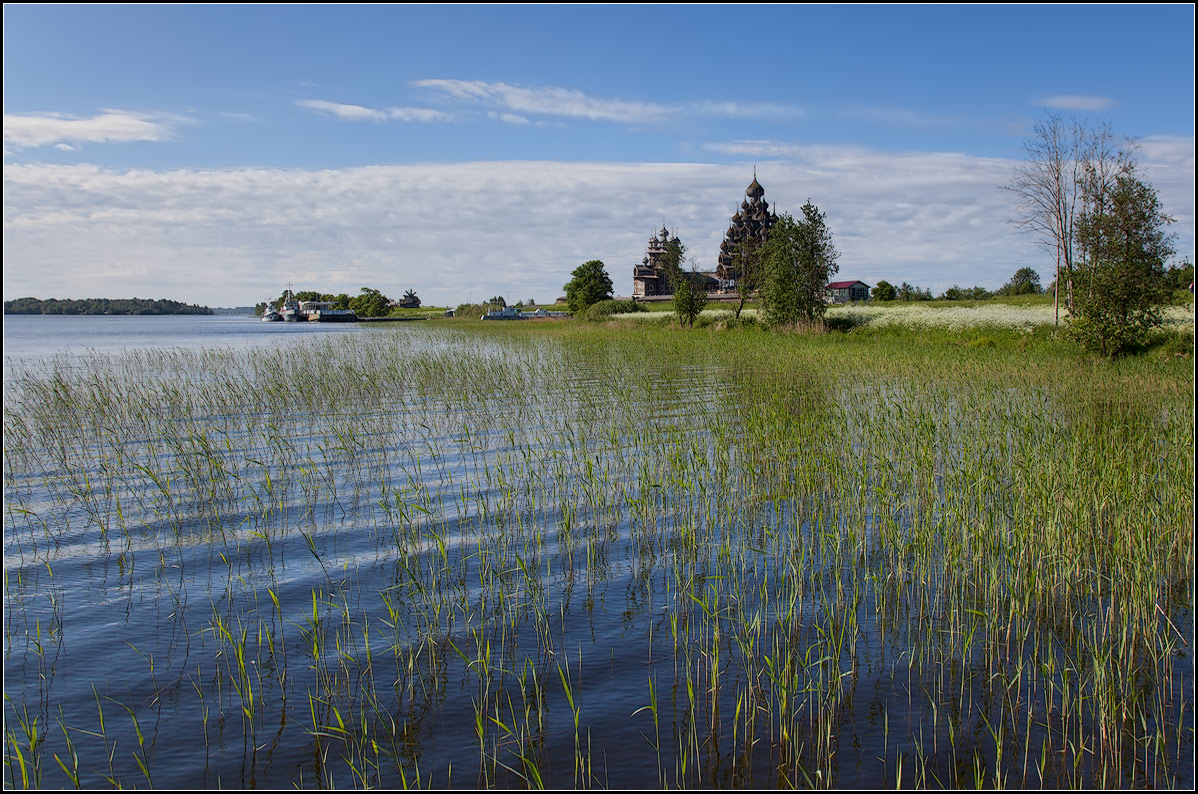 "photo ""Summer in Kizhi 3"" tags: landscape, summer, water"
