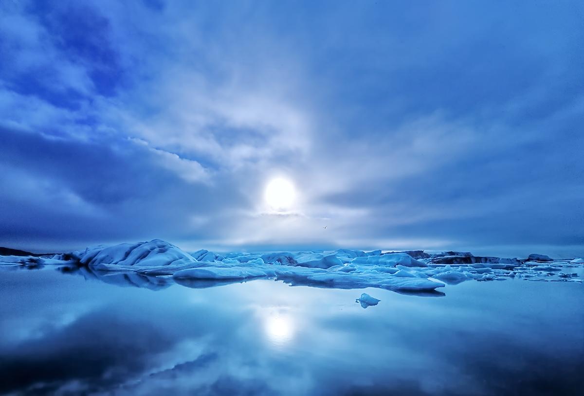 """фото """"Light in the Ice"""" метки: пейзаж, вода"""