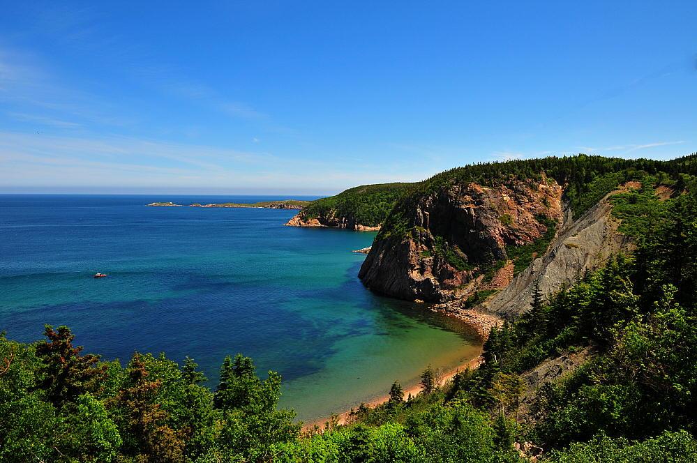 "photo ""White point, Cape Breton CA"" tags: landscape, travel, North America, water"
