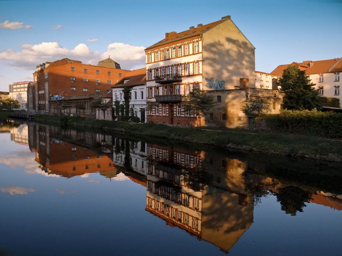 """фото """"Бранденбургский вечер..."""" метки: пейзаж, город, вода"""