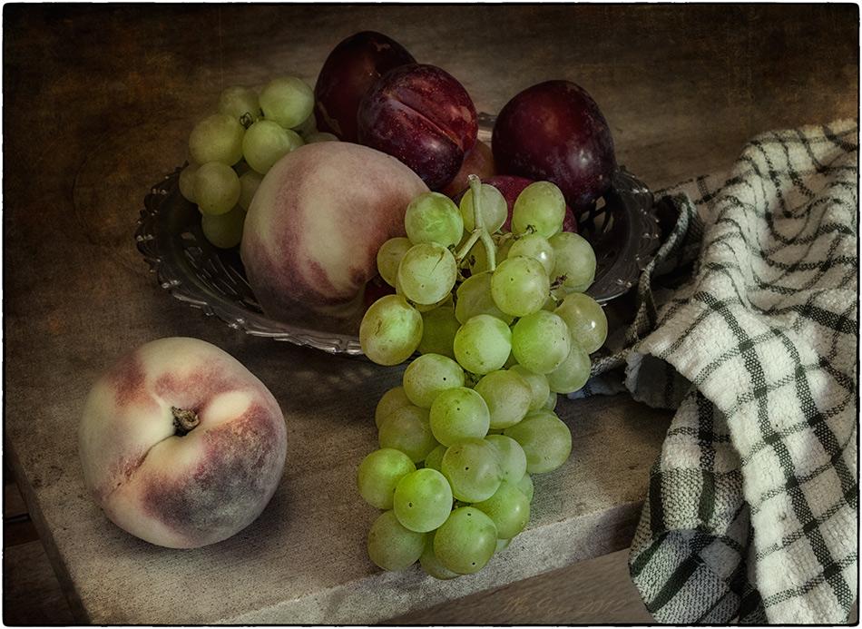 настоящему красивые картинки персики и виноград варианты
