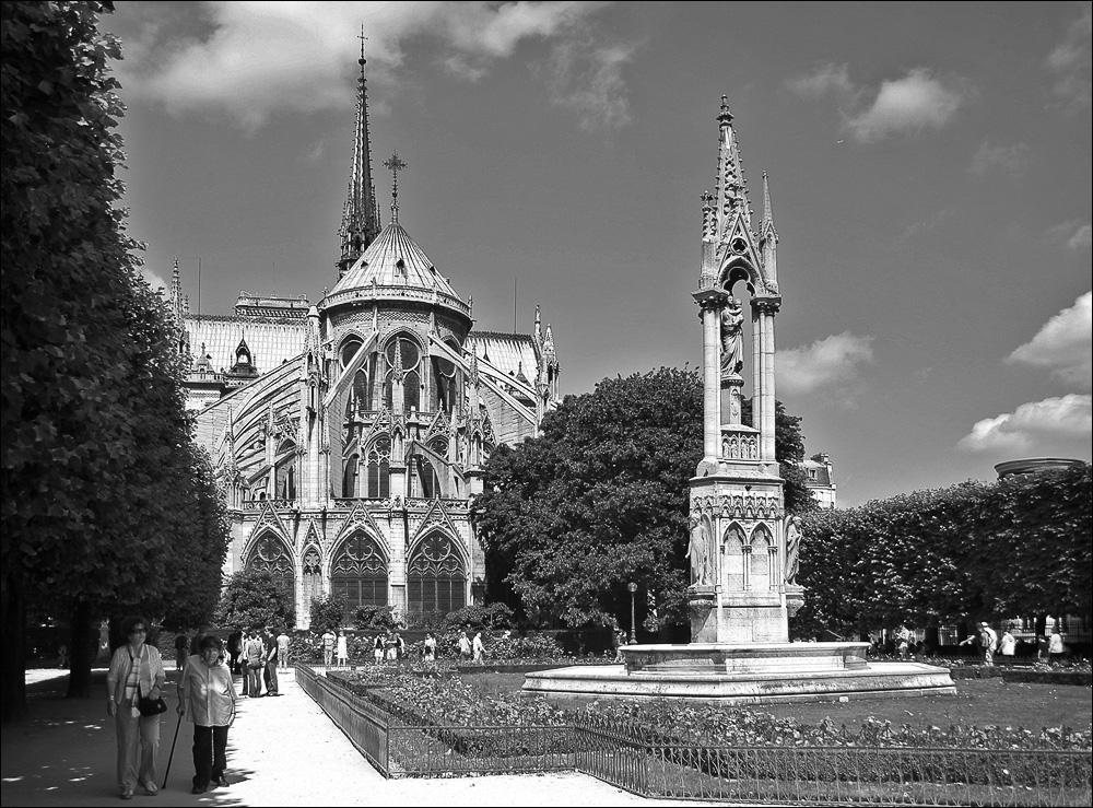 """фото """"Notre-Dame de Paris"""" метки: город,"""