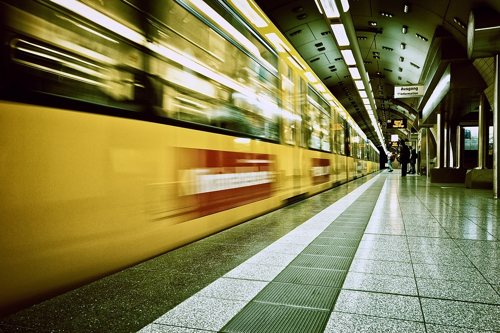 """photo """"the subway is gone"""" tags: technics, architecture, city, Europe, subway"""