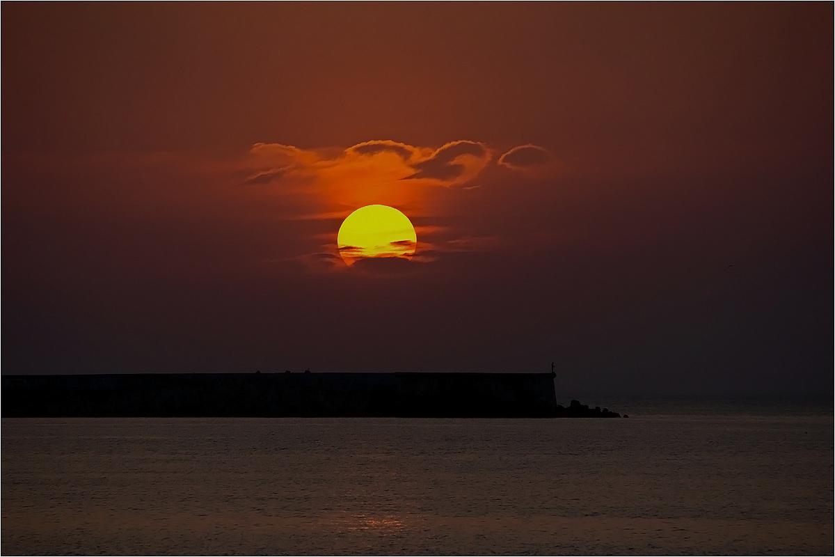 "фото ""* * *"" метки: пейзаж, путешествия, Крым, вода, закат, лето, солнце"