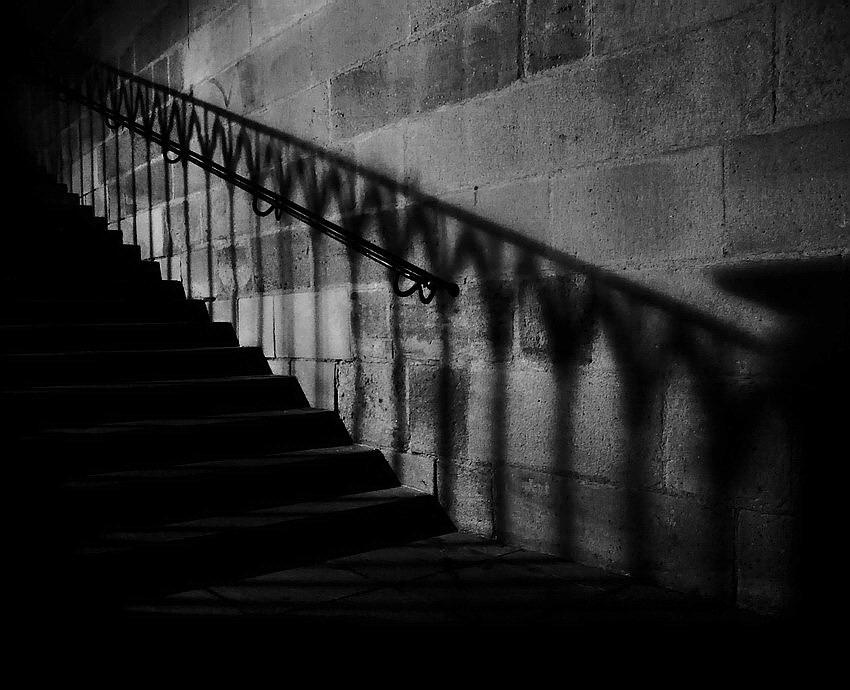 "photo ""Ночной лестница а тень"" tags: underwater,"