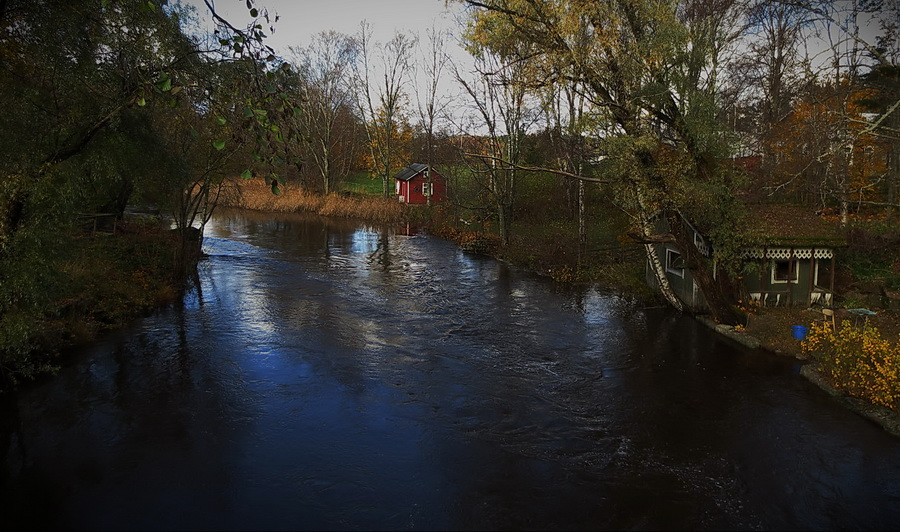"""фото """"банька на реке Virojoki"""" метки: пейзаж,"""