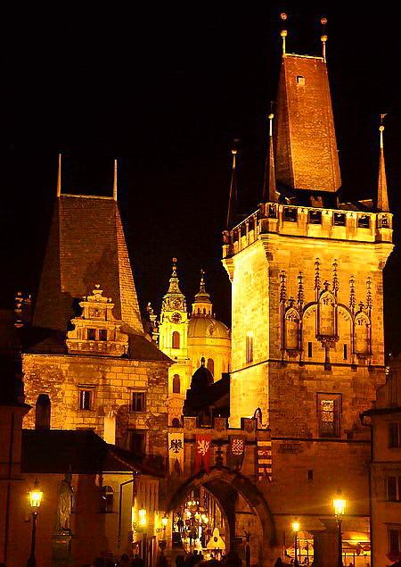 """фото """"Золотые башни"""" метки: архитектура, Прага"""