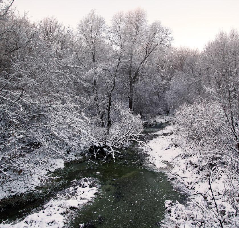 """фото """"Иткуль. Первый снег."""" метки: пейзаж,"""