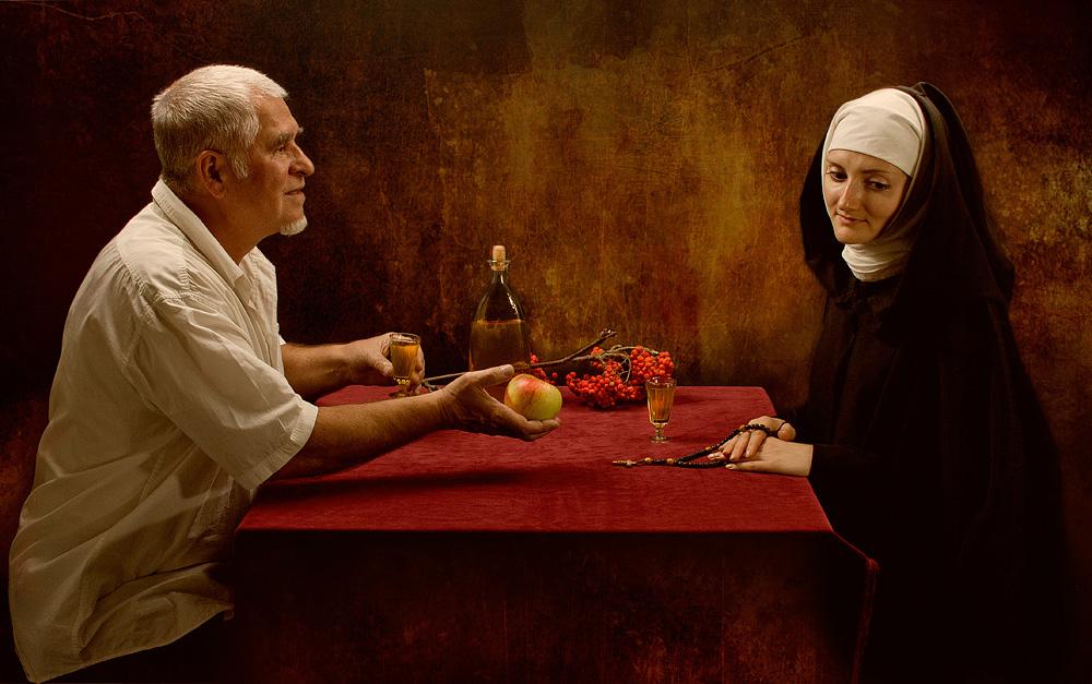 """фото """"Искушение"""" метки: портрет, жанр,"""