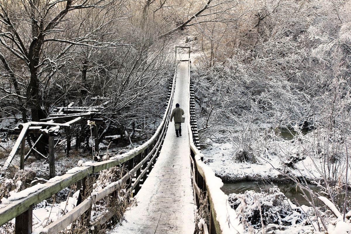 "фото ""Дорога жизни"" метки: пейзаж, вода, зима"