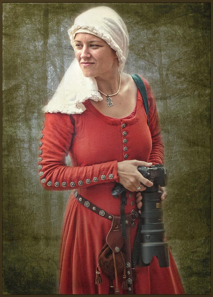 """фото """"Коллега из Средневековья"""" метки: портрет, юмор, разное,"""