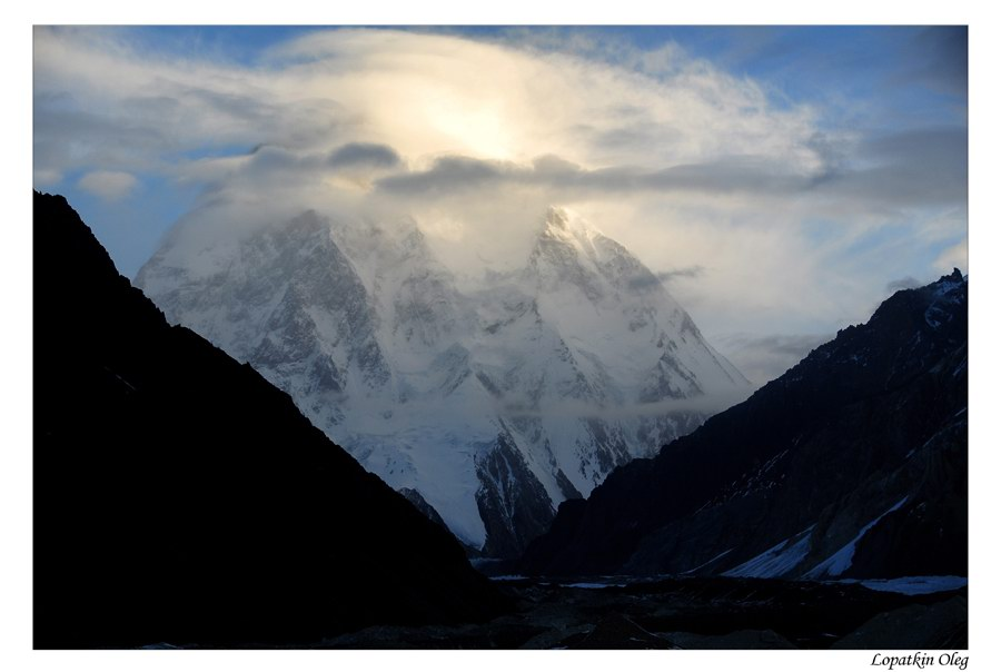 "photo ""View on K2 peak"" tags: travel, landscape, Baltoro, Concordia, Pakistan"