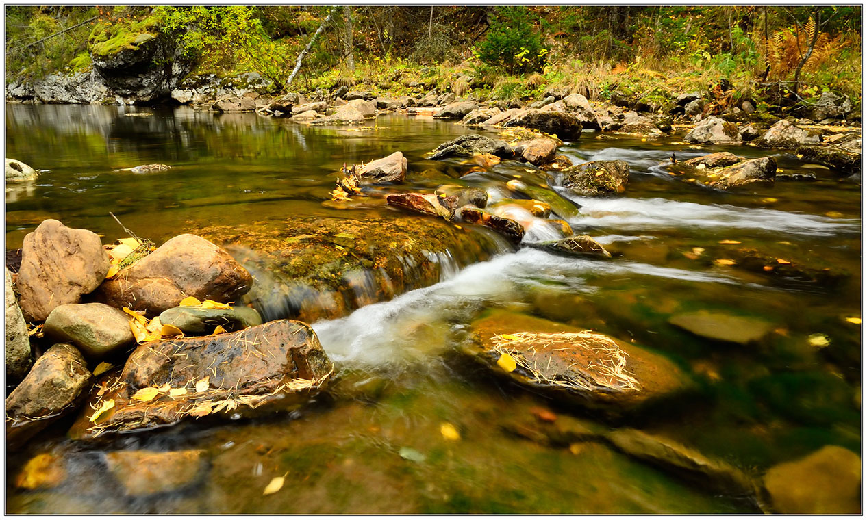 "photo ""***"" tags: landscape, travel, nature, autumn, river, september, stone, water, Ларкин, Тюлюк, ущелье"