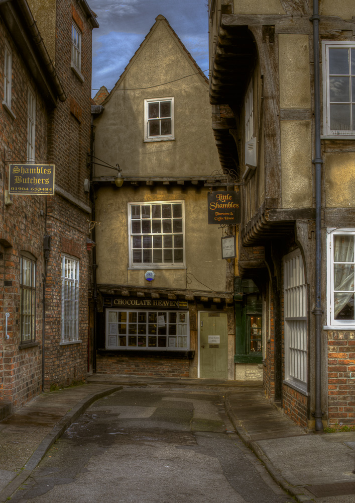"photo ""The Shambles, York"" tags: architecture,"