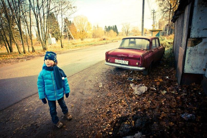 """photo """"Федька и Москвич"""" tags: genre,"""
