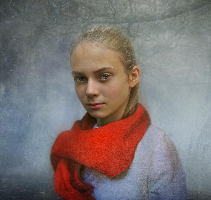 """фото """"Первый Снег"""" метки: портрет,"""
