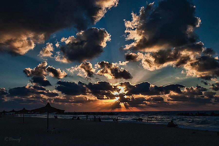 """фото """"Day end"""" метки: путешествия, пейзаж, Африка, закат, море"""
