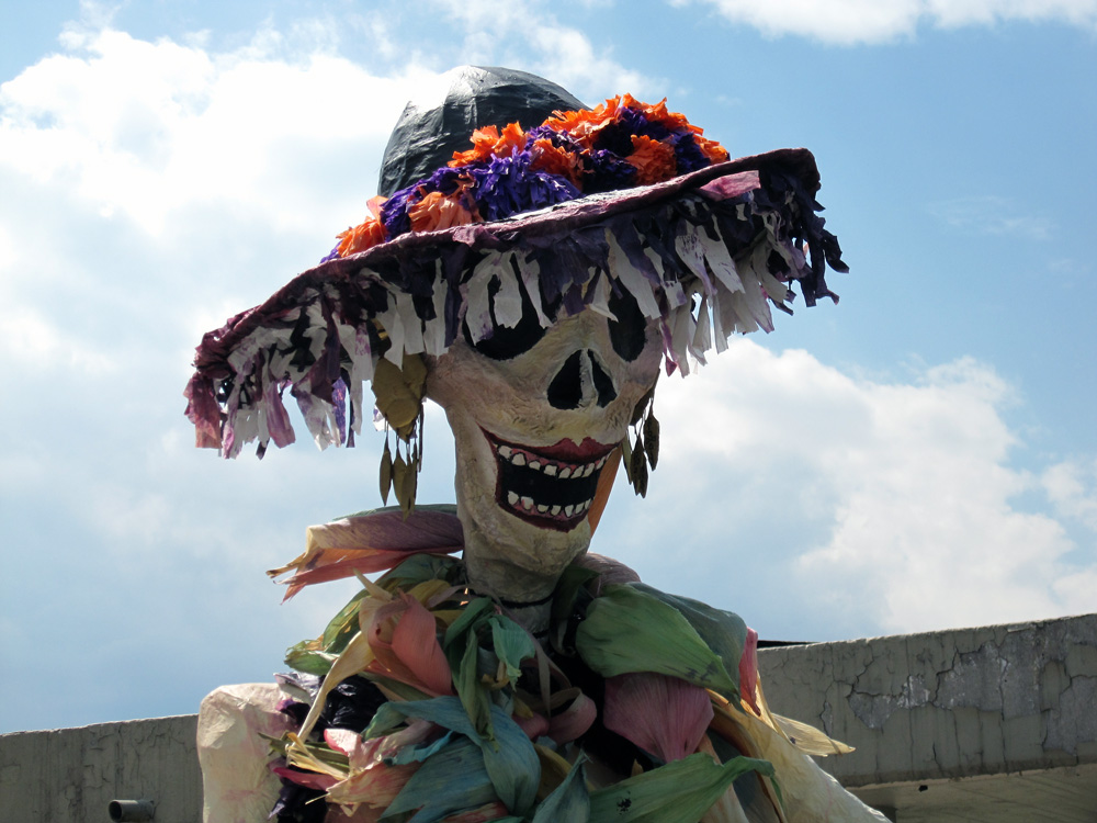"photo ""Dia de Muertos"" tags: portrait, reporting, still life, Caravela, Dia de Muertos"