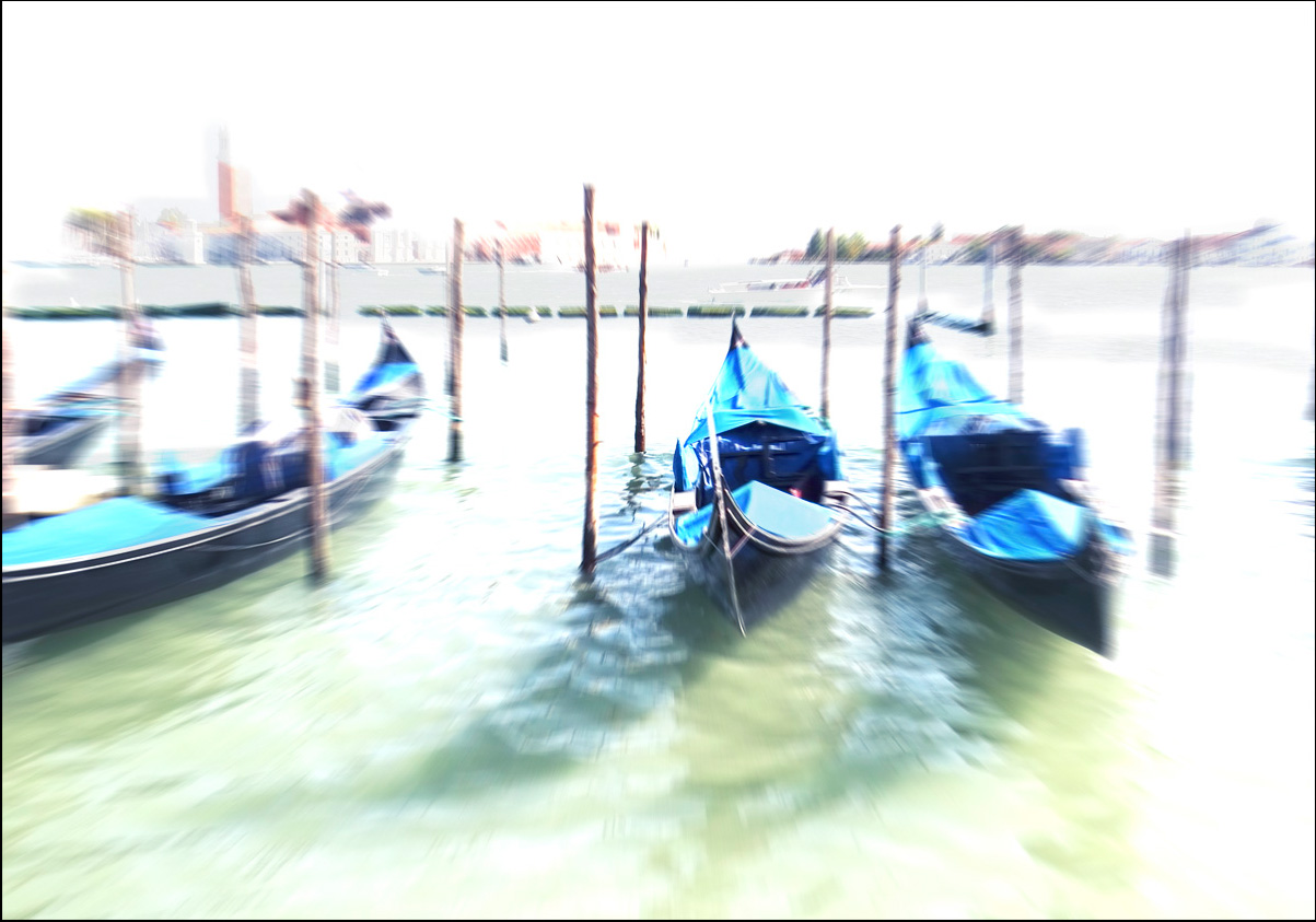 """фото """"Креативная Венеция..."""" метки: digital art, Венеция, Европа, Италия, стилизация"""