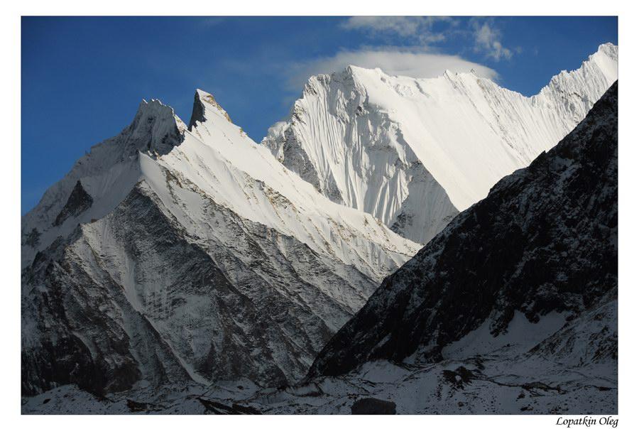 """фото """"Вид на часть вершины Chogholisa.."""" метки: путешествия, пейзаж, Baltoro, Chogholisa, Concordia, Pakistan"""
