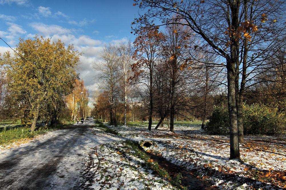 """фото """"Снег, который скоро растаял"""" метки: пейзаж,"""