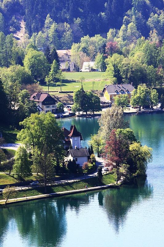 """фото """"На озере Блад"""" метки: , Европа"""